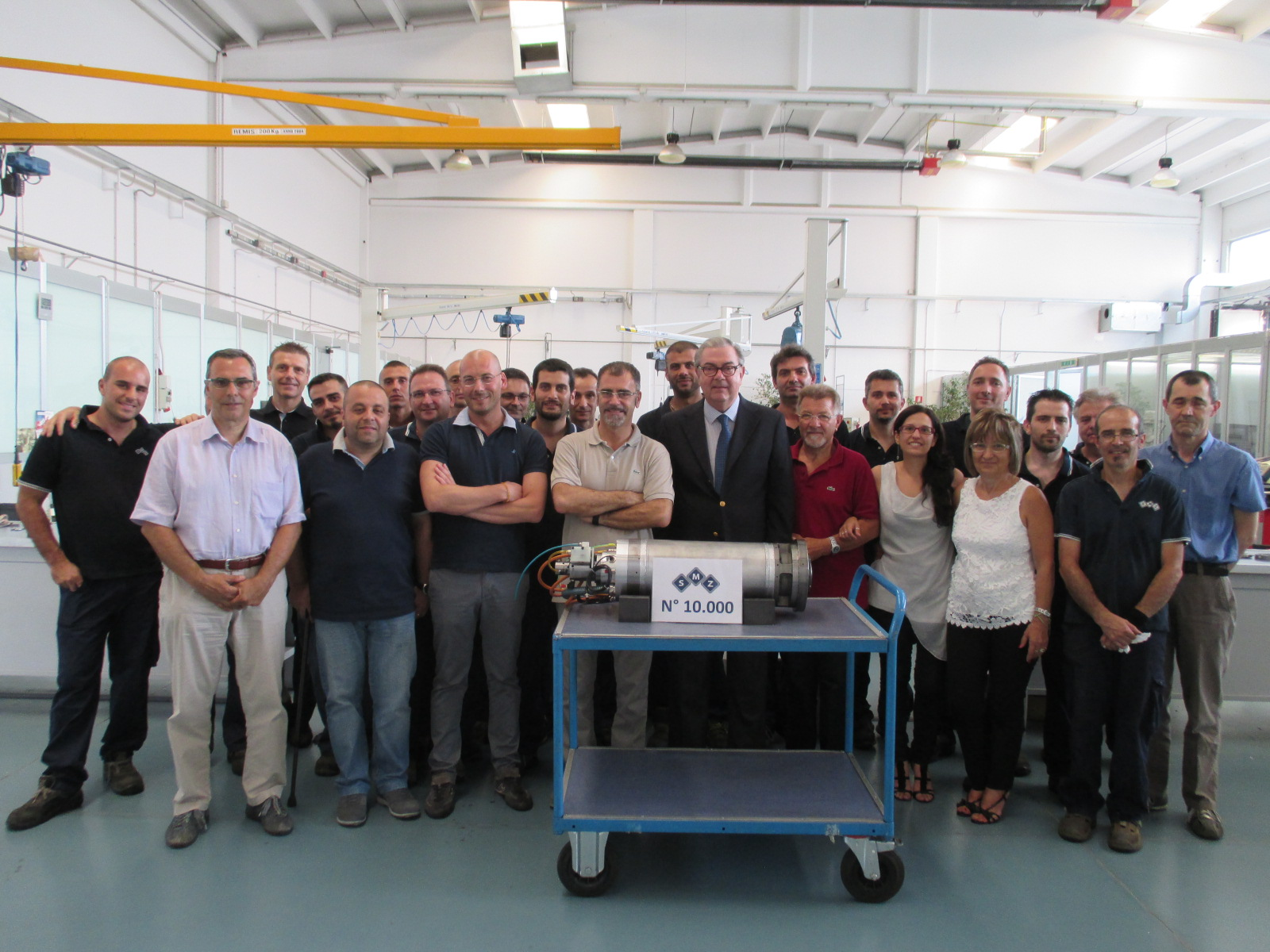 Nel 2015 SMZ Italia ha raggiunto il numero di 10.000 mandrini riparati nell'arco di una vicenda imprenditoriale che nel 2018 compirà vent'anni | SMZ Italia