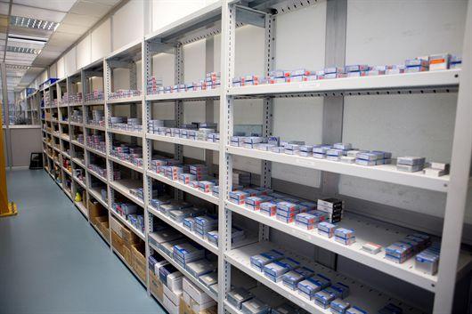 Il magazzino dei ricambi contiene unicamente elementi di marche primarie, per garantire la perfetta riuscita dell'intervento di manutenzione